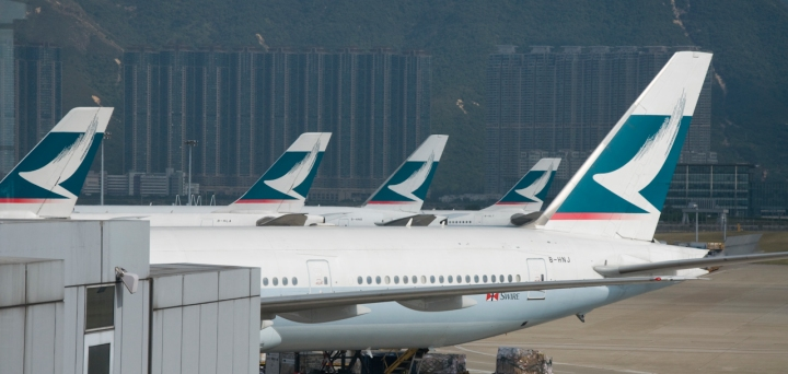 Ancestral Visit to Fujian: Cathay Pacific A330 from SIN to HKG