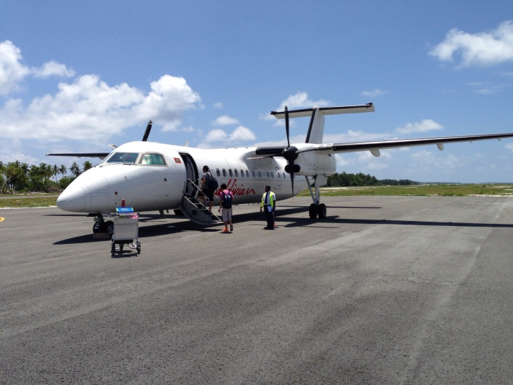 From Mountains to Beaches – Notes on Flights aboardMaldivian