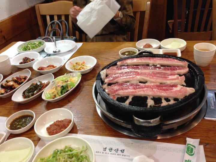 East Coast Trip 2013: Fantastic Korean BBQ at Hahm Ji Bach