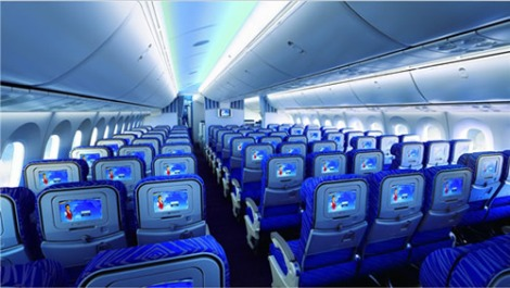 China Southern 787 Economy cabin