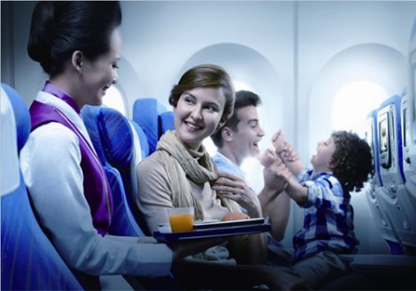 Flight service on China Southern