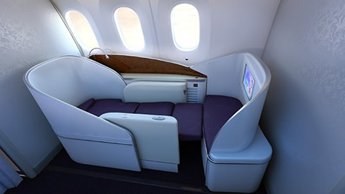 China Southern 787 First Class
