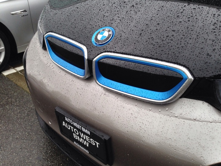 Test-driving the BMW i3