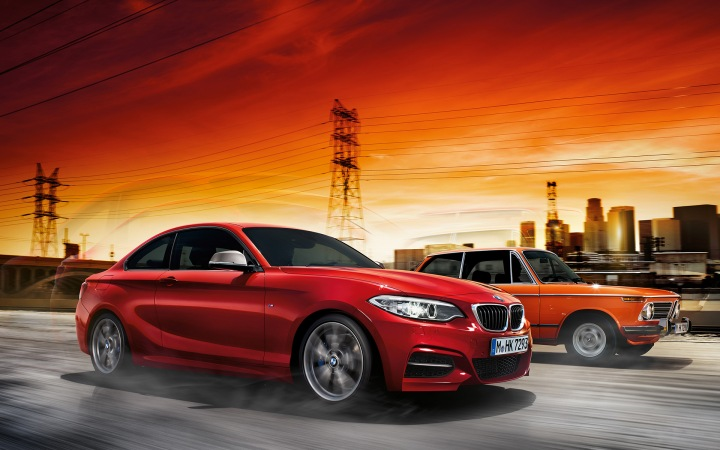 Test-driving the BMW M235i