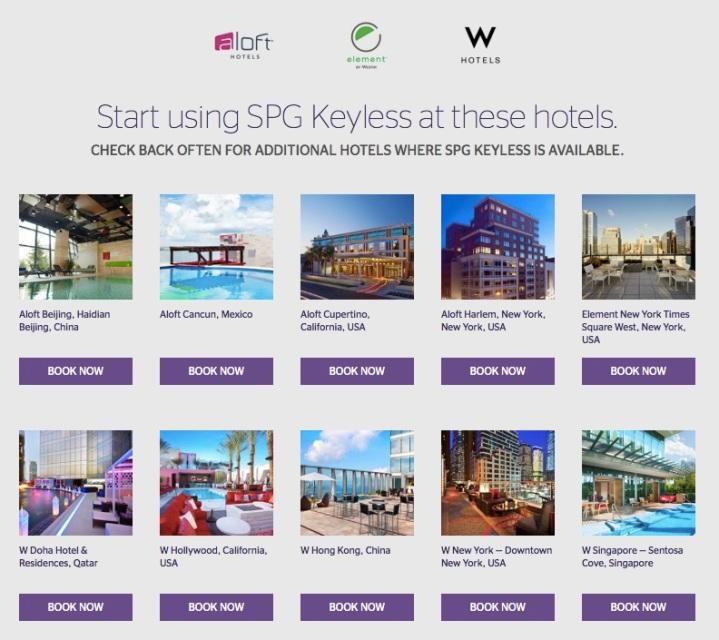 SPG_Keyless_Hotels