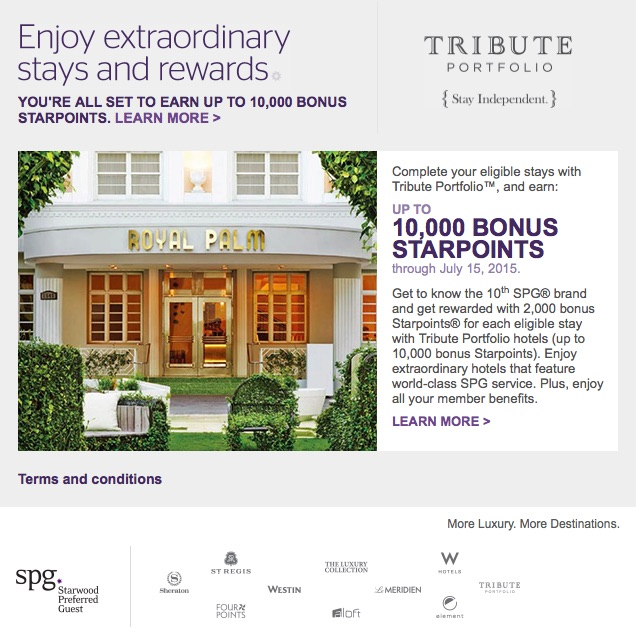 SPG Tribute Promotion