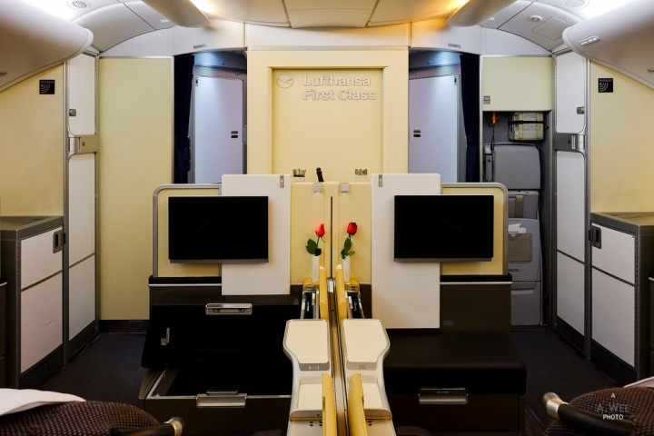 Lufthansa A380 First Class from Singapore Changi to Frankfurt