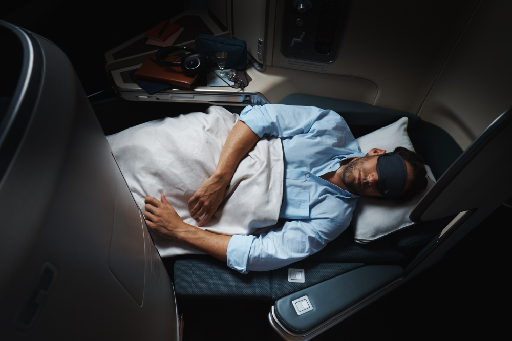 Cathay Business Class on the A350