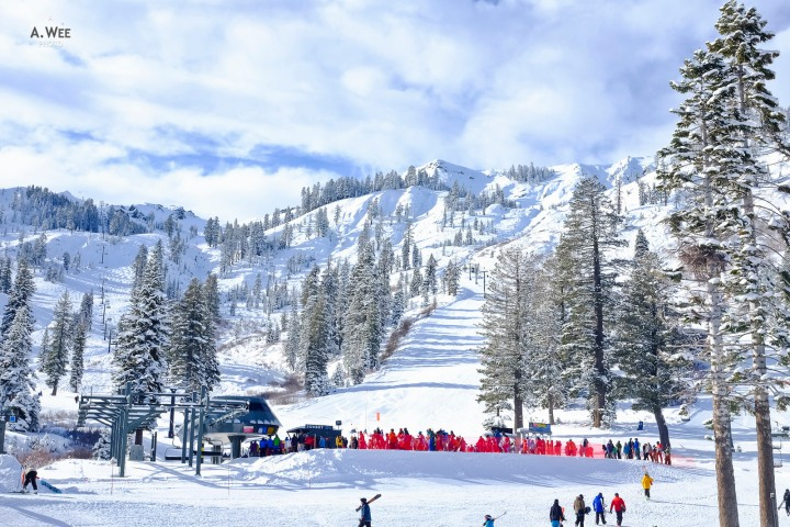 Ski day at Alpine Meadows – Small but Perfect