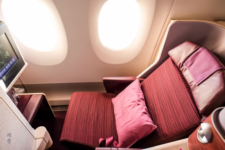 Thai Airways A350 Business Class from Milan to Bangkok