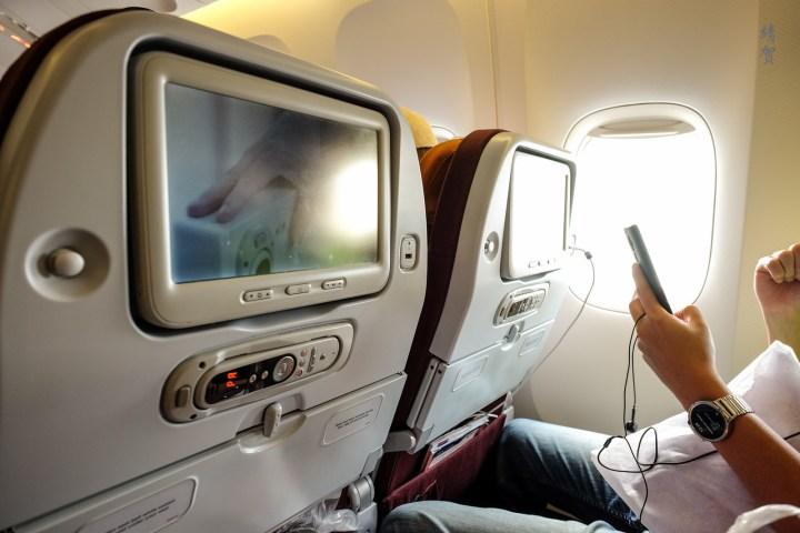 Thai Airways Boeing 777-300ER Economy Class from Singapore toBangkok