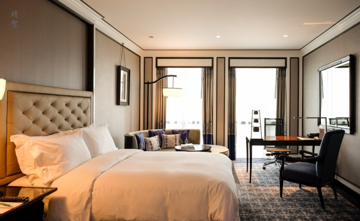 Renovated rooms at The Athenee, a Luxury Collection Hotel in Bangkok