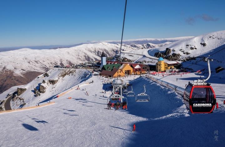 Skiing around Queenstown:  Fun down under at Cardrona AlpineResort