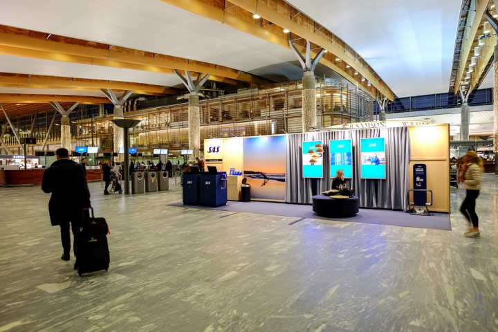 SAS Lounges in Oslo Gardermoen Airport