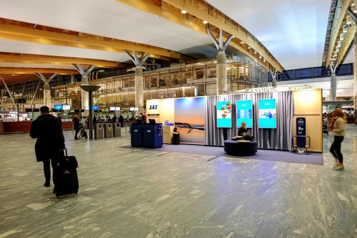 SAS Lounges in Oslo GardermoenAirport