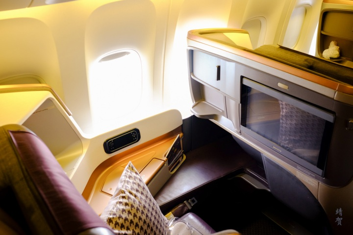 Singapore Airlines new Business Class on the 777-300ER from Tokyo Narita toSingapore