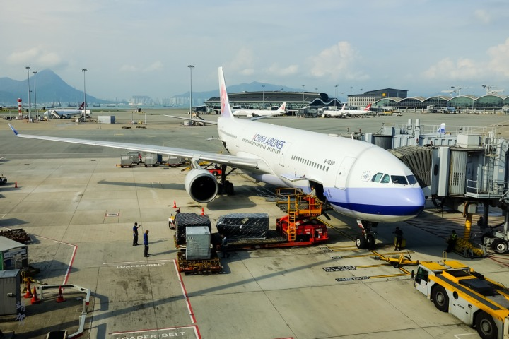 China Airlines Economy Class on the A330 from Hong Kong to Jakarta