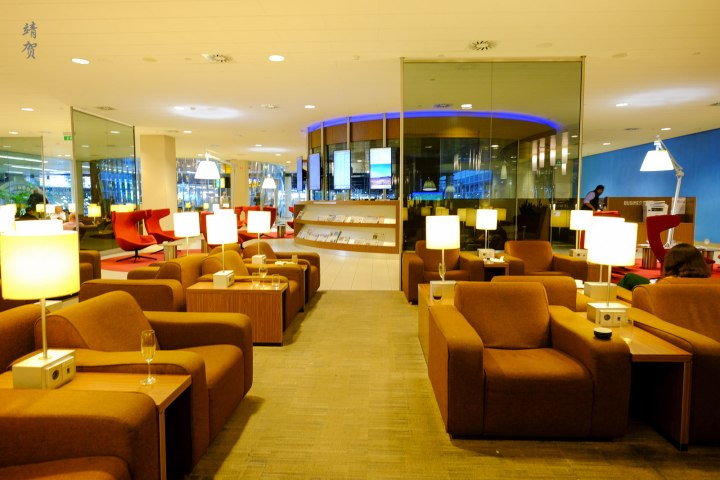 KLM Crown Lounge 25 at Amsterdam Schiphol