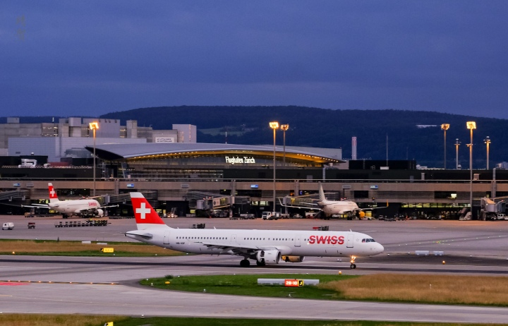 Swiss A320 Business Class from Stockholm to Zurich