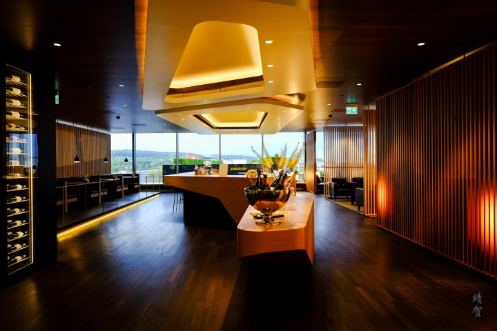 Swiss Alpine Lounge offers alternative lounge space for Business Class passengers