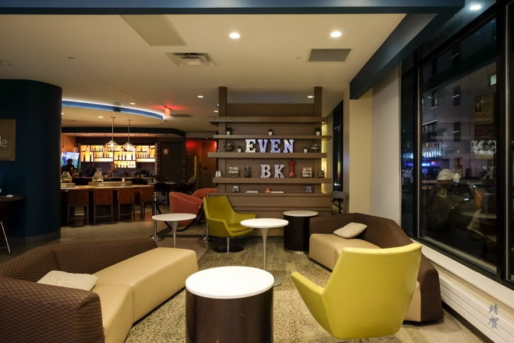 Fitness theme at EVEN Hotels Brooklyn, a new IHG concept
