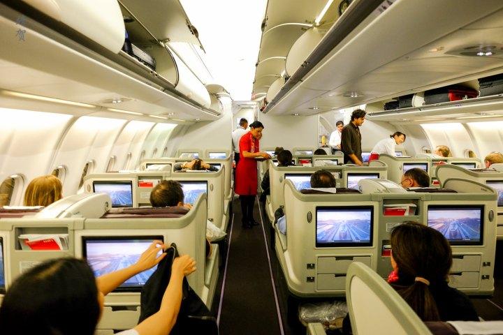 Avianca A330 Business Class from Bogotá to NewYork