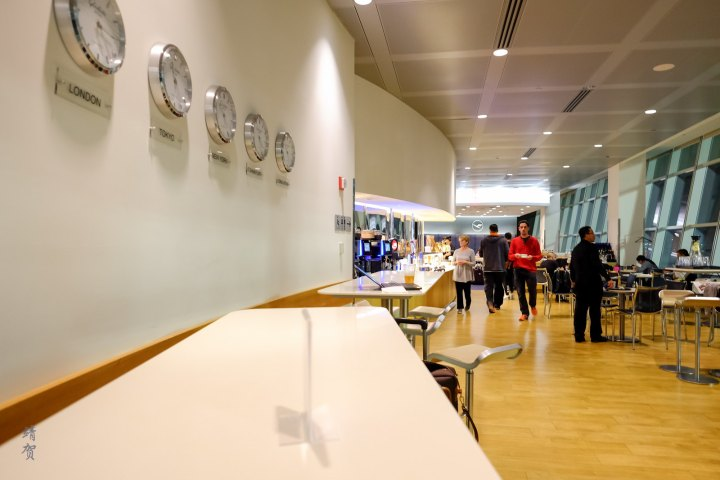 Lufthansa Business Lounge at New York JFK Airport Terminal 1