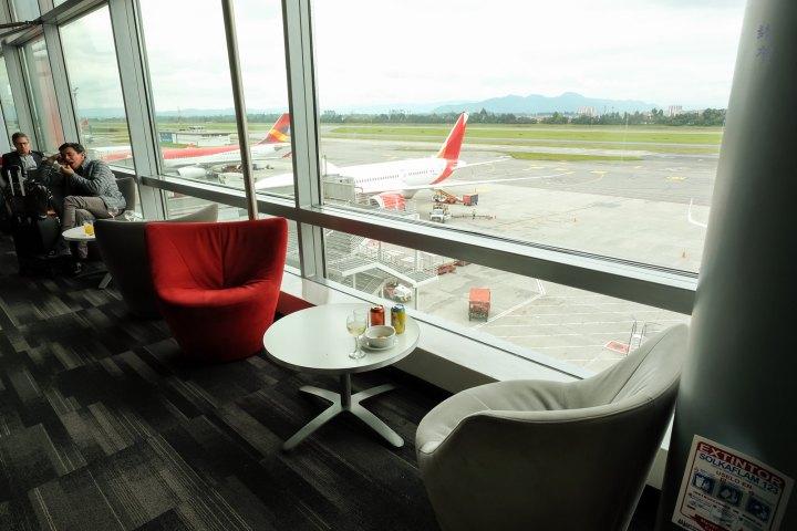 Avianca VIP Lounge in Bogotá El DoradoAirport