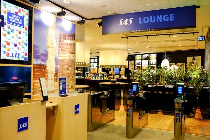 SAS Gold Lounge at Stockholm Arlanda Terminal5