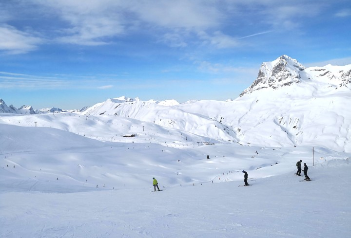 Fun Times on Skis at Warth-Schröcken in Arlberg