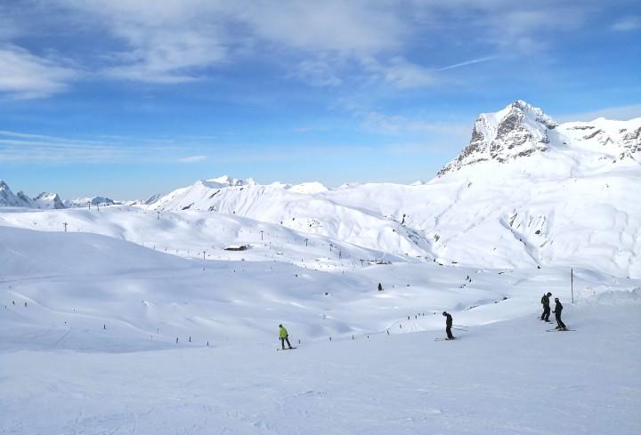 Fun Times on Skis at Warth-Schröcken inArlberg
