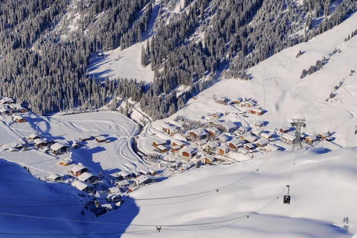 The White Ring Ski Tour at Lech am Arlberg
