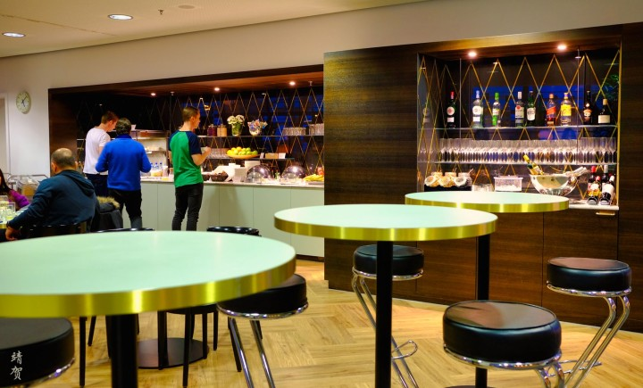 Aspire and Dnata Skyview Lounge at Zurich Airport