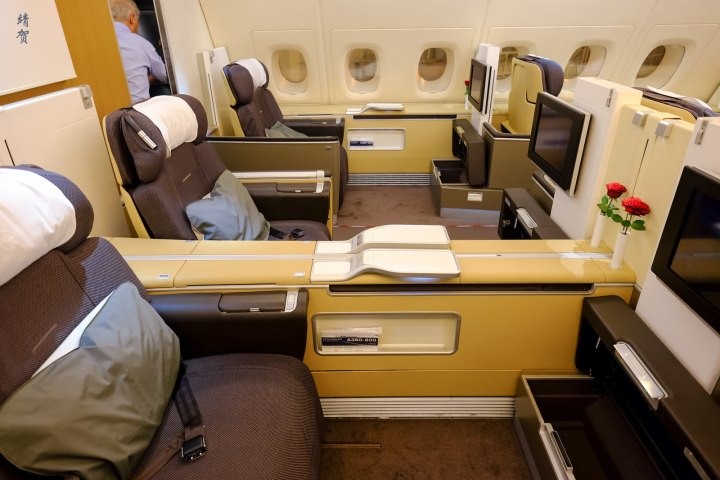 Lufthansa A380 First Class from Frankfurt to Singapore