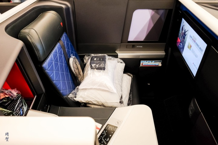 Delta ONE Business Class Suites on the A350 from Los Angeles to Shanghai