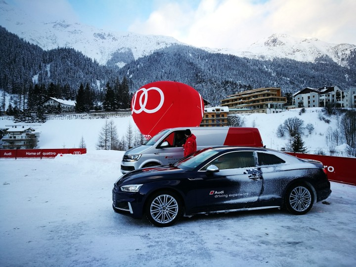 Audi Ice Experience at St. Anton for February 2020