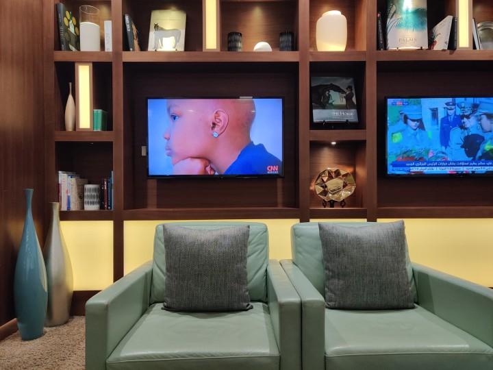 Etihad Arrival Experience and Lounge at Abu Dhabi InternationalAirport